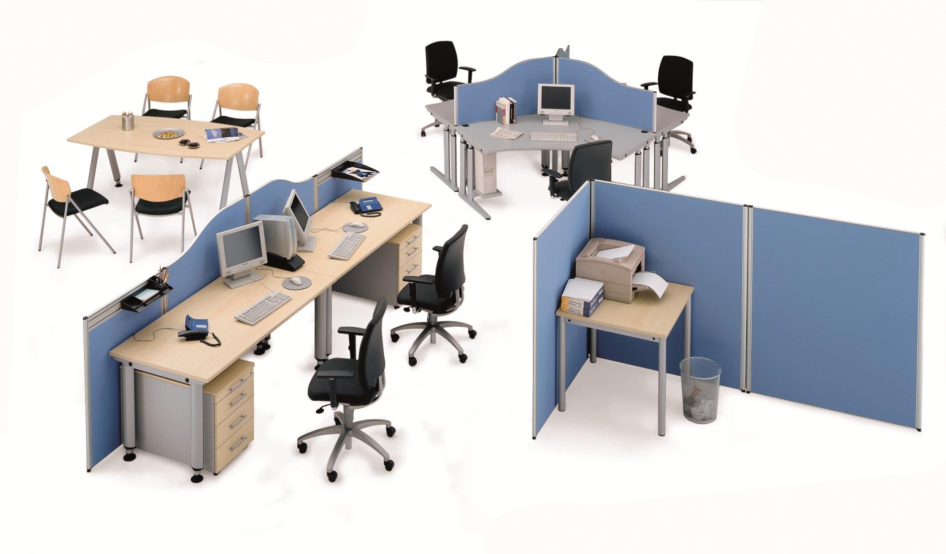 B&V Büroeinrichtungen - Raumgliederung